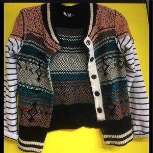 Tribal Bomber Style Jacket.